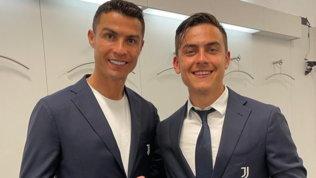 """""""Un piacere imparare da te"""". Da Dybala a Bonucci, messaggi d'addio a Ronaldo"""