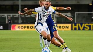 Verona-Inter, le immagini del match