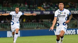 Correa debutta e stende l'Hellas con una doppietta: Inzaghi a punteggio pieno