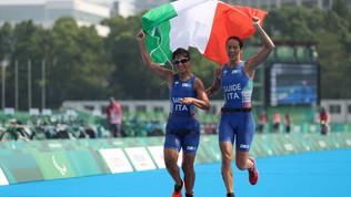Barbaro e Bonin argento nel triathlon, Plebani bronzo