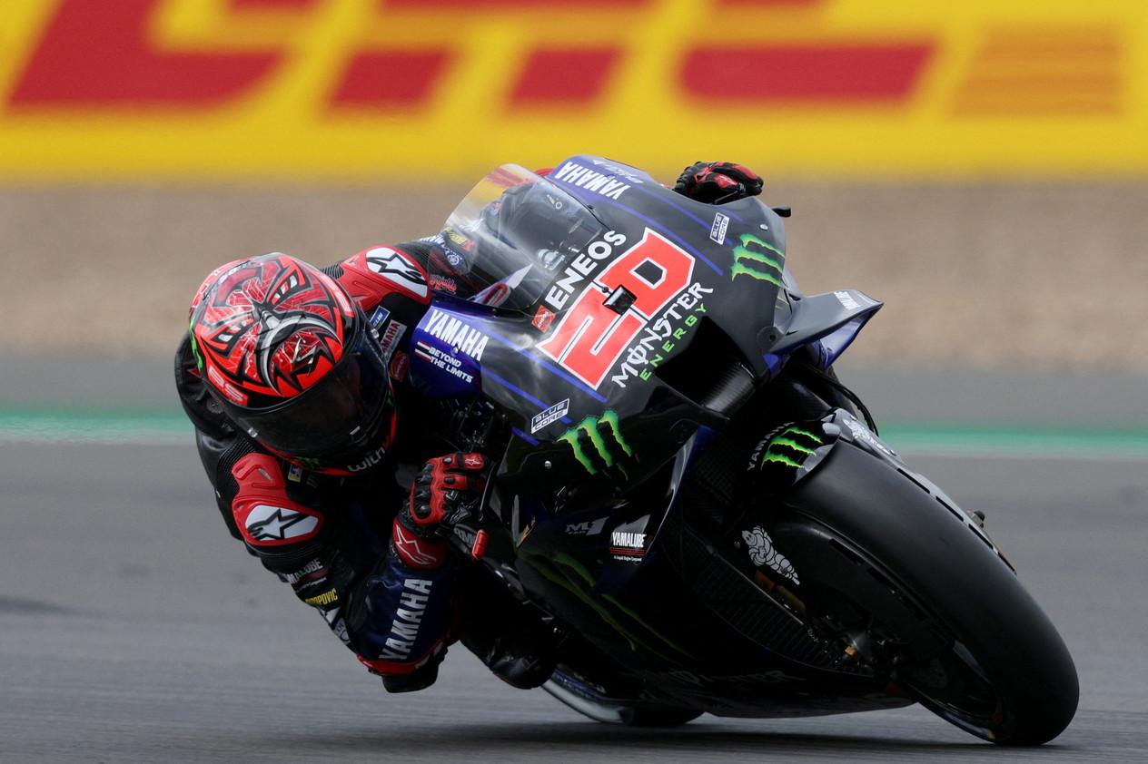 Il pilota spagnolo del team Honda conquista la pole position davanti a Bagnaia, di soli 22 millesimi, e Fabio Quartararo<br /><br />