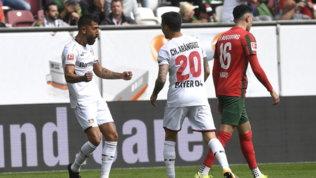 Bayern, Leverkusen e Friburgo volano in testa. All'Eintracht non basta Hauge