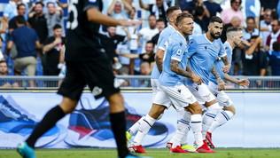 Lazio-Spezia: le immagini della sfida