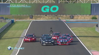 Etcr round 4: spettacolo full electric