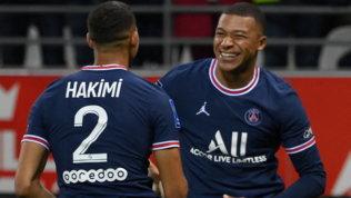 Festa Psg: Mbappé batte il Reims nella prima di Messi. Monaco ok