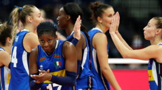 Volley, Europei: l'Italia vola ai quarti, Belgio k.o.