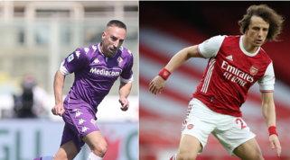 Da Ribery a David Luiz, si apre il mercato degli svincolati di lusso