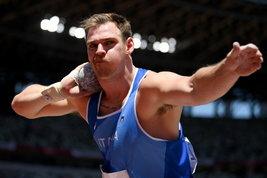 Grande prova di Zane Weir: 21,32 a Rovereto