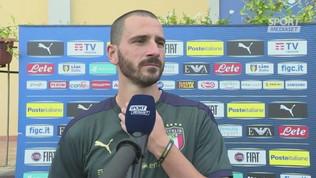 """Bonucci: """"L'entusiasmo va messo sul campo"""""""