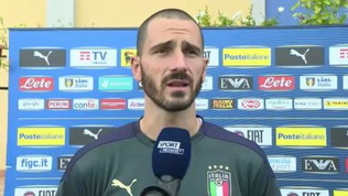 """Bonucci: """"Bello rivedersi dopo Euro 2020. Juve? Non siamo questi"""""""