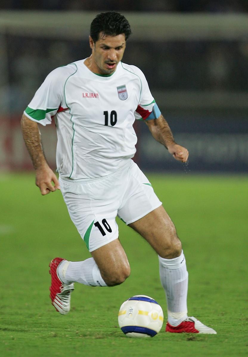 2) Ali Daei (Iran): 109 gol