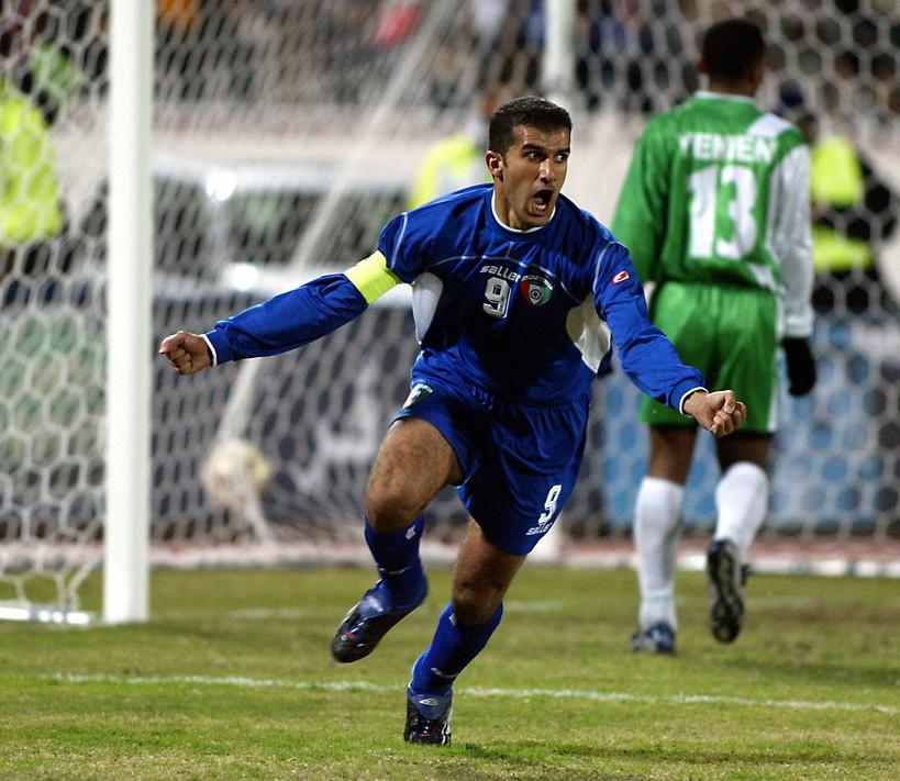 8)Bashar Abdullah (Kuwait): 75 gol