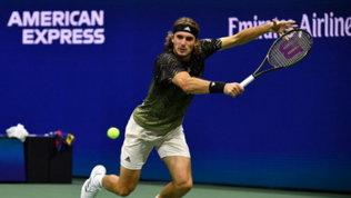 US Open: Tsitsipas accede al terzo turno e sfideràAlcazar