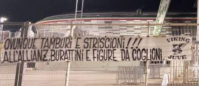 &nbsp;&quot;Squadra distrutta e uno stadio salotto.. Agnelli e Pairetto disastro perfetto&quot;, cos&igrave; gli ultras&nbsp;<br /><br />