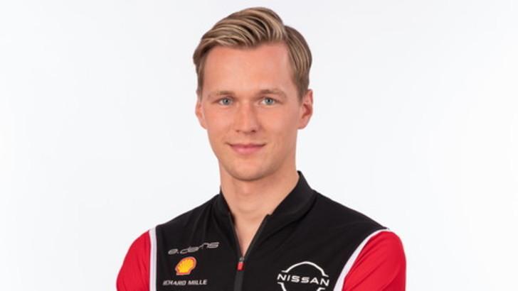 ÈMaximilian Guentheril nuovo pilota per Nissan e.dams