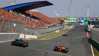 """Zandvoort, un muro """"orange"""" per la F1"""