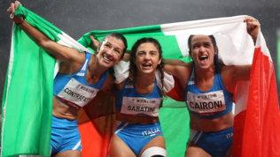 Paralimpiadi: storica tripletta azzurra nei 100metri T63
