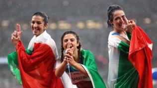 Storica tripletta Italia nei 100 metri, oro e record alla Sabatini