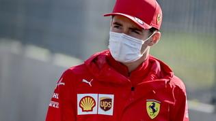 "Leclerc: ""Seconda fila sfumata"". Sainz: ""Meccanici incredibili"""