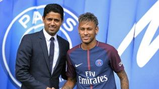 Psg, le cifre dell'affare Neymar: 500 milioni tra cartellino e ingaggio