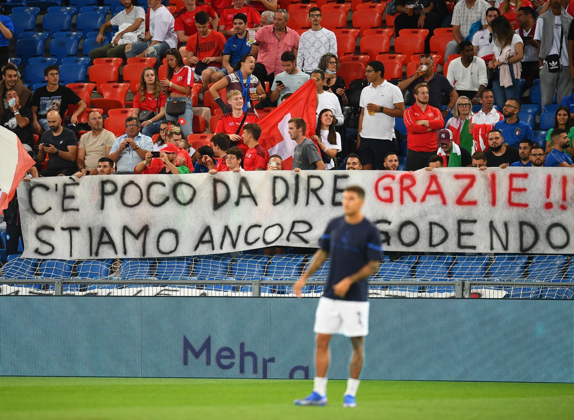 I migliori scatti di Svizzera-Italia 0-0<br /><br />
