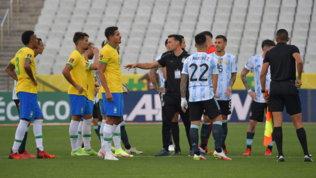Brasile-Argentina, la Fifa avvia un'indagine. I 4 argentini indagati