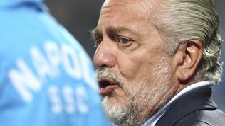 """De Laurentiis all'attacco: """"A volte c'è chi ti scippa uno scudetto"""""""