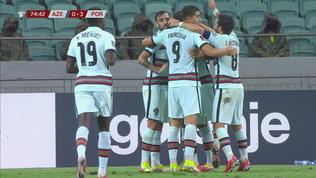 Azerbaijan-Portogallo 0-3: gli highlights