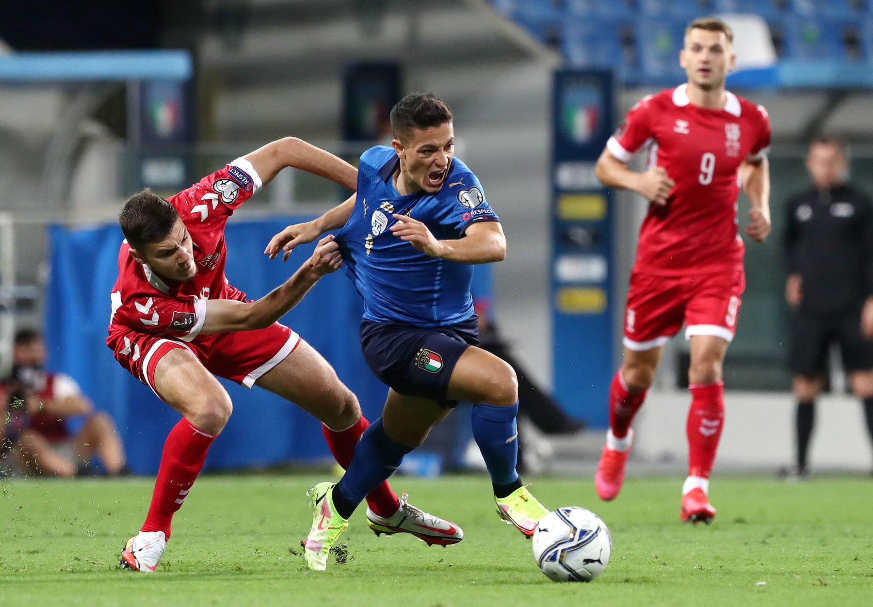 I migliori scatti di Italia-Lituania 5-0.<br /><br />