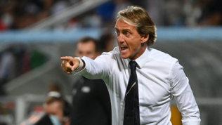 """Mancini: """"Kean e Raspadori hanno un grande futuro, ma dipende da loro"""""""