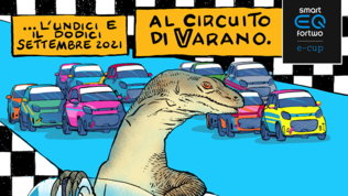La creatività di Davide Toffolo per il manifesto della gara di Varano