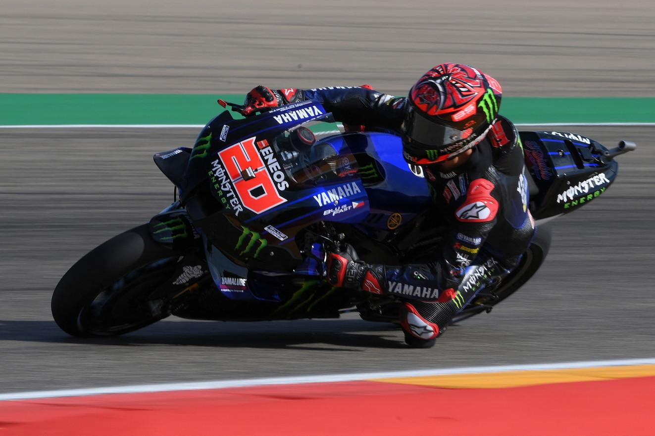 Il Motomondiale torna ad Alcaniz per il Gp di Aragon: tutte le immagini della prima giornata di prove libere della tredicesima tappa stagionale della MotoGP.<br /><br />