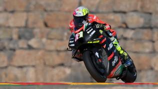 La MotoGP nel deserto spagnolo