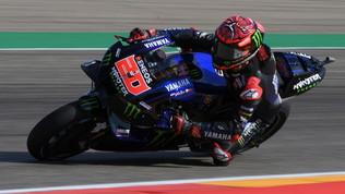 Quartararo diabolico in FP3, per Rossi sarà Q1