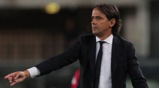 """Inzaghi: """"Bastoni infortunato, non ci sarà. Non pensiamo al Real Madrid"""""""