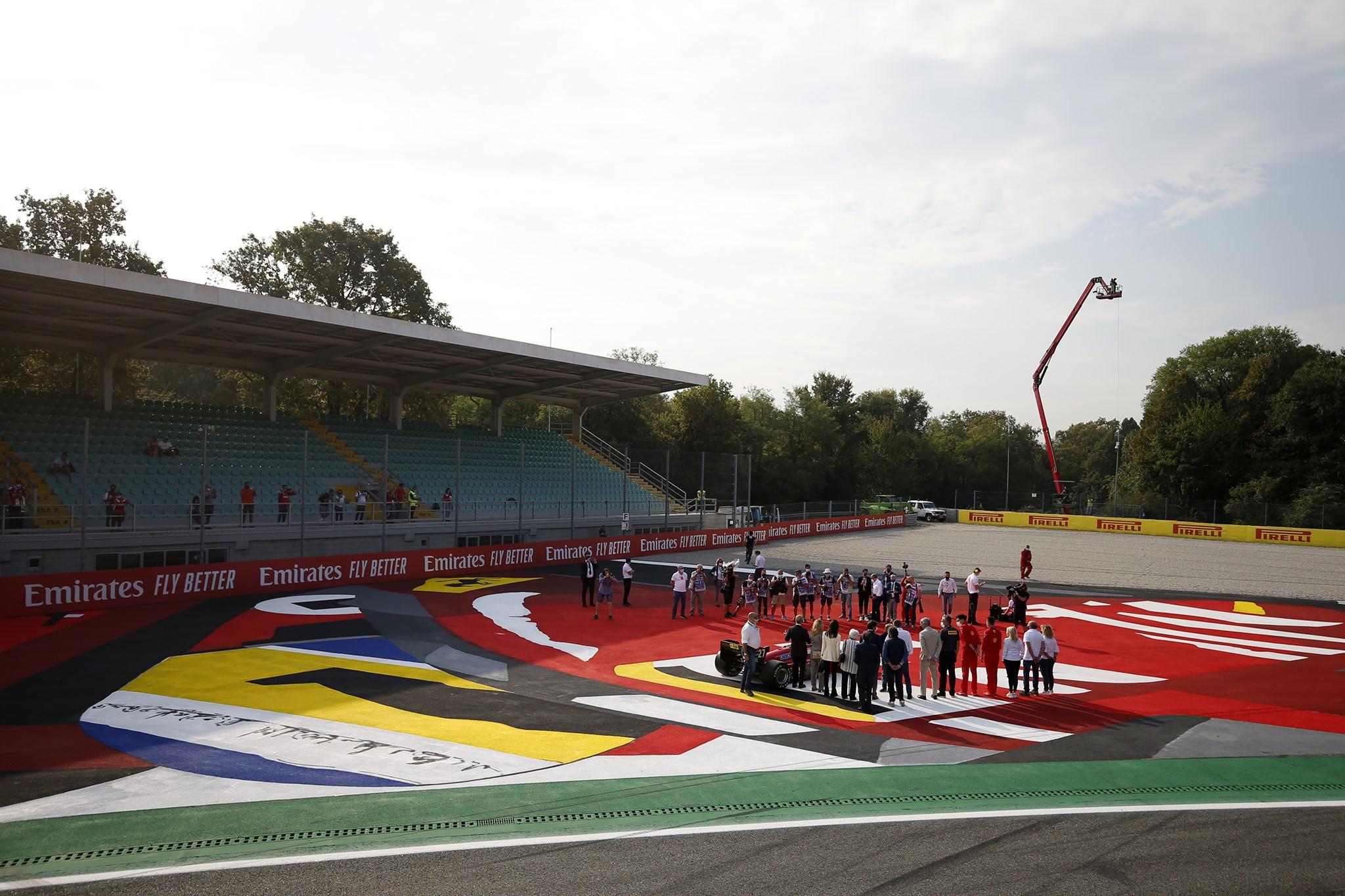 In ricordo dell&#39;ex pilota della Ferrari. La moglie Nadia: &quot;Ha sempre avuto un rapporto speciale con Monza&quot;<br /><br />
