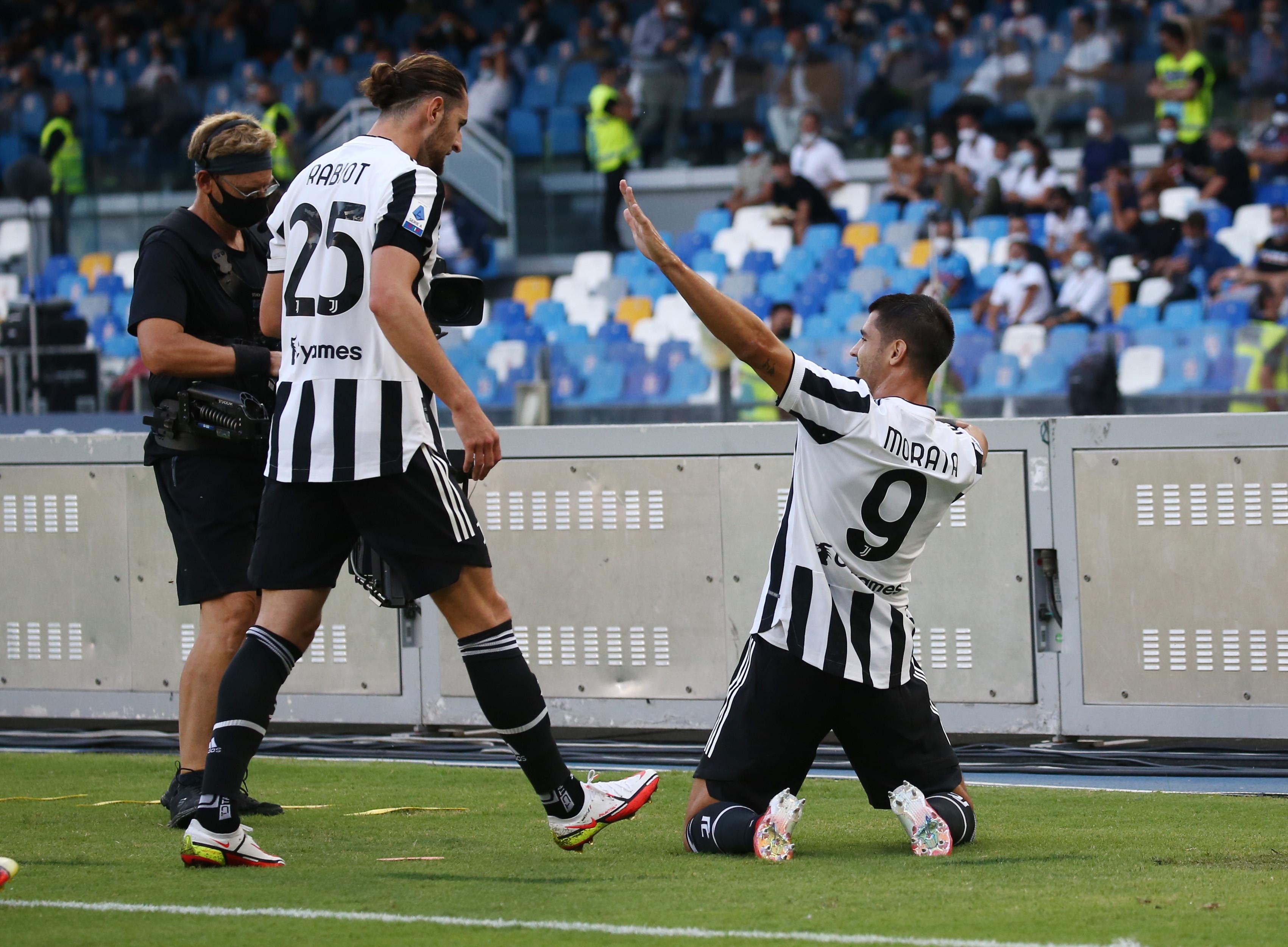 I migliori scatti di Napoli-Juventus 2-1<br /><br />