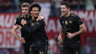 Il Bayern ne fa 4a Lipsia, il solito Haalandspinge il Dortmund