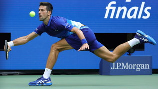 Us Open: le foto della finale Djokovic-Medvedev