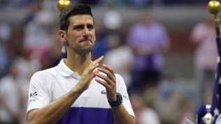 """Djokovicin lacrime: """"Grazie New York, mi hai reso felice lo stesso"""""""