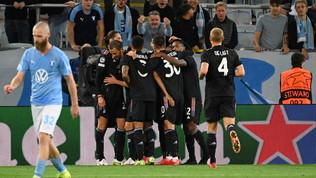 La Juve ritrova, gol e sorrisi. Da Malmoe parte la  nuova  stagione