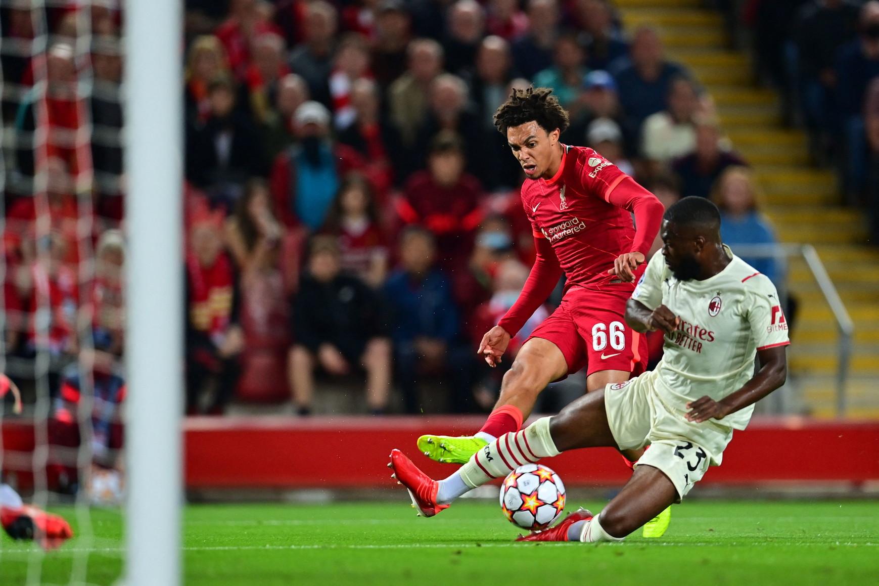 I rossoneri sono tornati in Champions 2745 giorni dopo l&#39;ultima volta e lo hanno fatto da Anfield, casa del Liverpool di Klopp<br /><br />