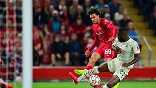 Il Milan torna in Champions: le foto da Liverpool