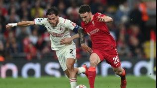 Il Milan sogna ad Anfield con Rebic e Diaz, ma passa il Liverpool