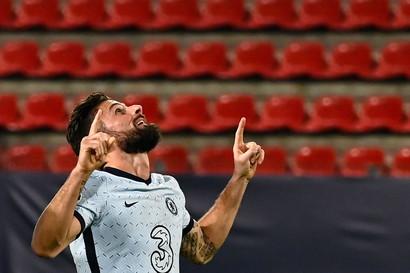 Giroud (Siviglia-Chelsea 0-4 2020)