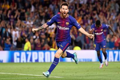 Messi (Barcellona-Arsenal 4-1 2010 e Barcellona-Bayer Leverkusen 7-1 2012)