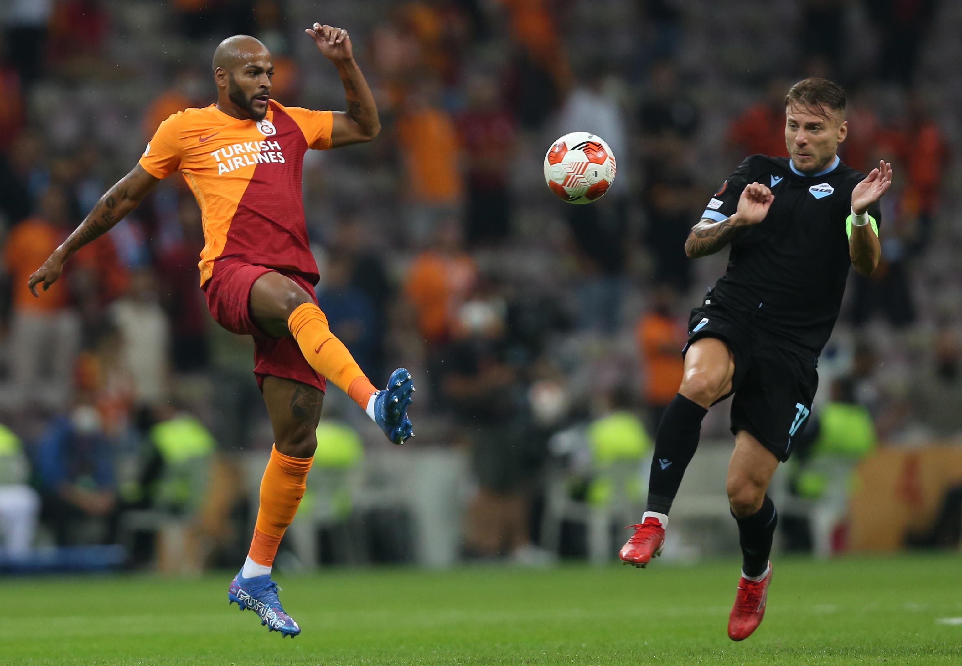 I migliori scatti di Galatasaray-Lazio 1-0.<br /><br />
