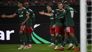 Il Marsiglia frena a Mosca, il Betis ribalta il Celtic