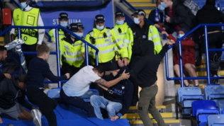 Leicester-Napoli, 11 arresti dopo i violenti scontri prima del match
