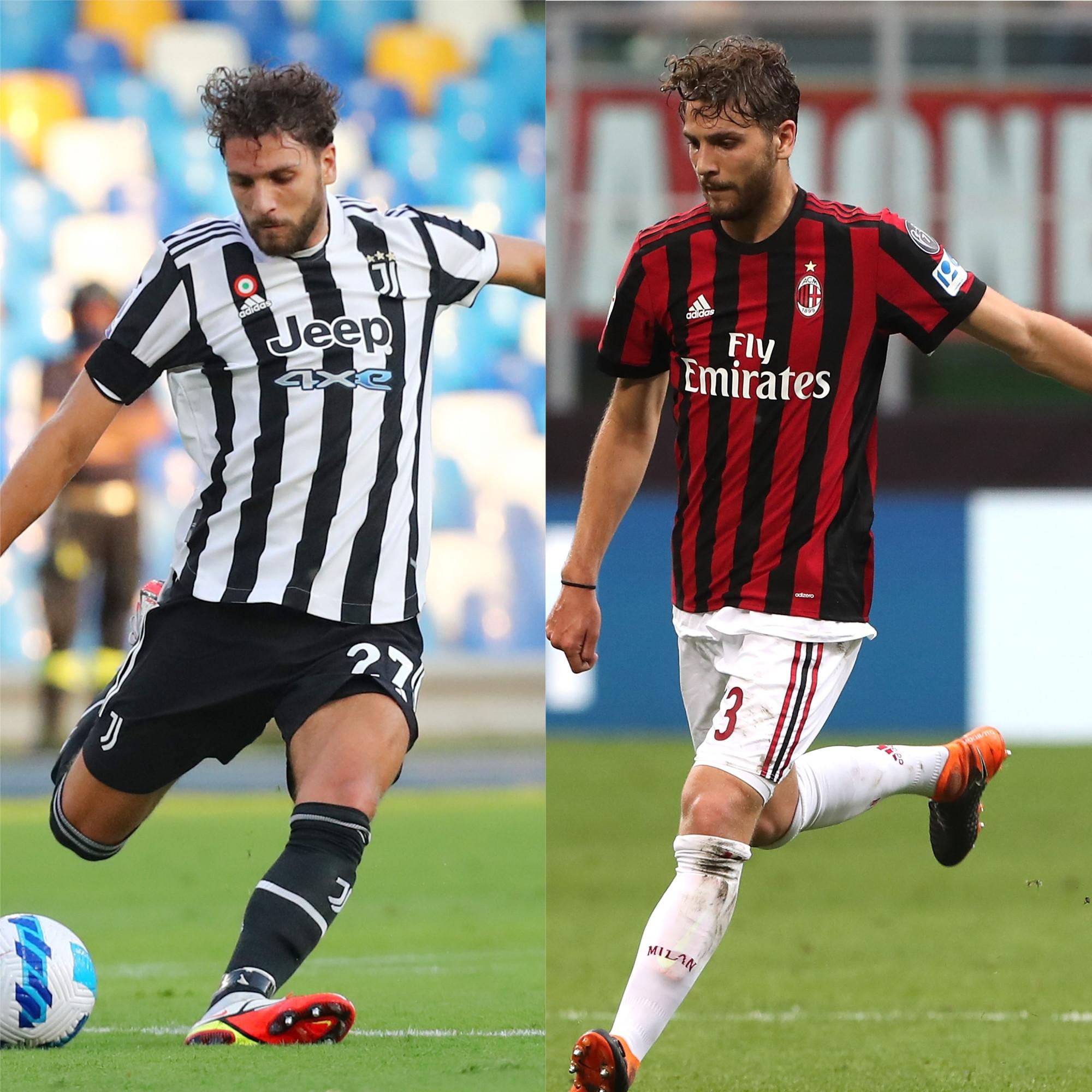 Manuel Locatelli: Milan 2016-18, Juventus 2021-